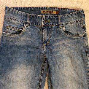 MUDD 90's / Y2K Wide Leg Jeans w/ Thick Waistband